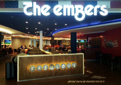 The Embers - Ezeiza Airport