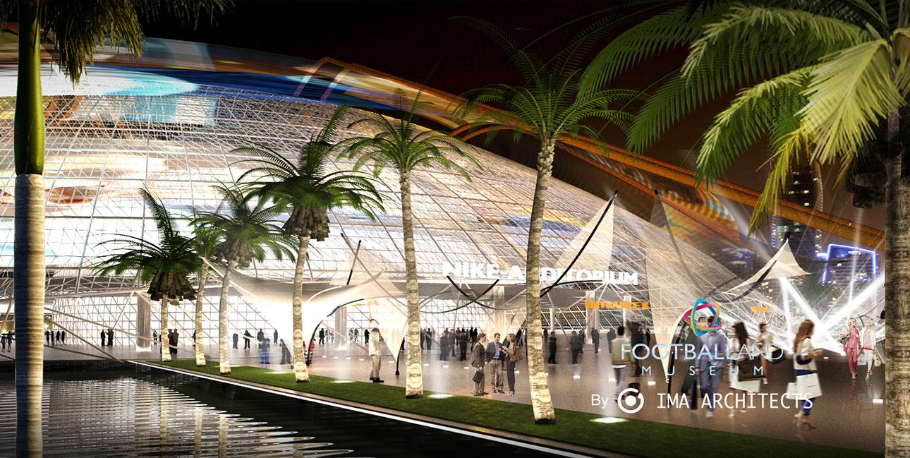 FOOTBALLAND - IMA Architects | Architecture Startup