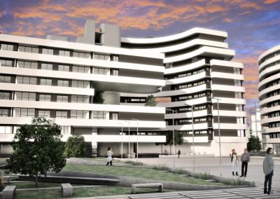 Villa Olímpica Juegos Olímpicos 2018 - Concurso