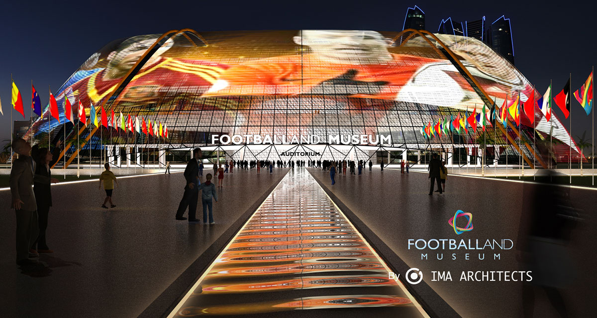 FOOTBALLAND - IMA Architects | Architecture Startup