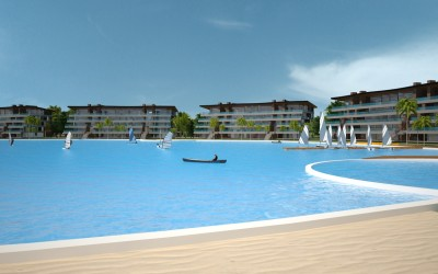 "RCI (world leader in timeshare) chose ""Mar Adentro"" designed by Ima Architects to land in Bolivia."
