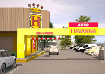 Havanna Drive thru | IMA ARCHITECTS – ARCHITECTURE STARTUP