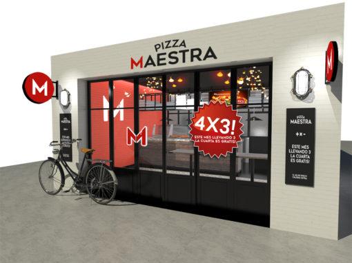 Pizza Maestra (México)  | IMA ARCHITECTS – ARCHITECTURE STARTUP