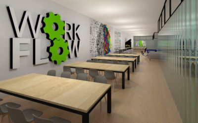 Coworking by IMA ARCHITECTS – ARCHITECTURE STARTUP